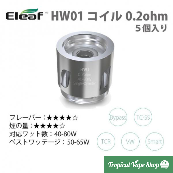 Eleaf HW01 0.2ohm 5pcs